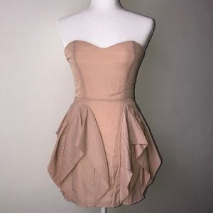 KEEPSAKE the label Rose Gold/Blush Pink Dress